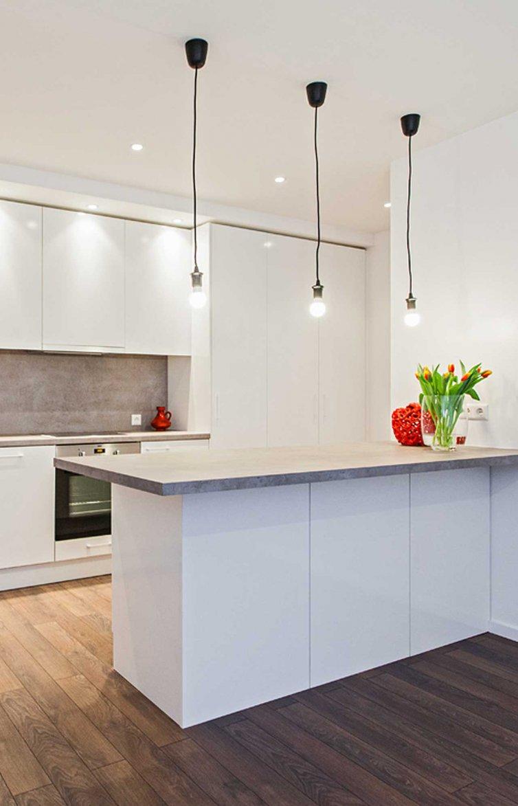 Virtuvė ir svetainė